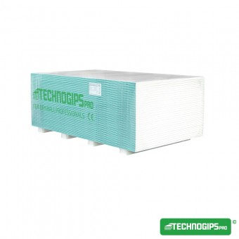 PLACA TECHNOGIPS HIDRO 12.5 1200X2600