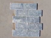 Travertin bluestone antichizat 1x7.5x15 grosime 1cm